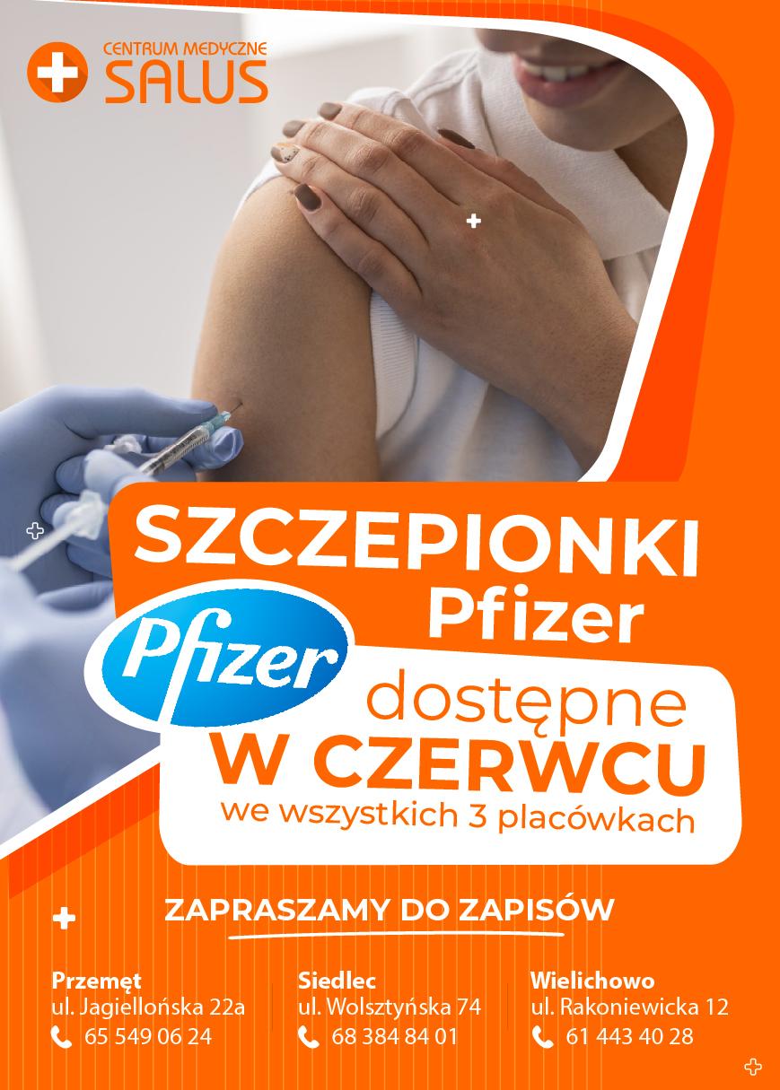Szczepionki Pfizer w CM Salus